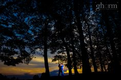 Eileen & Meryll's pre-wedding shoot. Taken at sunset near Lough Eske, over looking the Bluestack mountains. Photo by Ghorm Studio Photography
