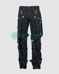 3e8121a9d1 Men Womb Straps Gothic Pant Womb Straps Goth Pant comes with the lot of  straps work