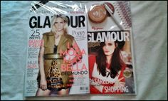 The kitten &The Hat Blue: REVISTA GLAMOUR SEPTIEMBRE