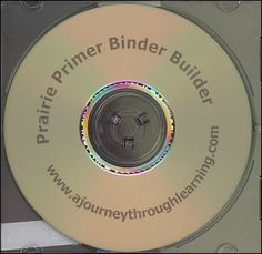 Prairie Primer Binder-Builder CD | Main photo (Cover)