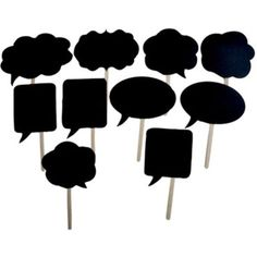 Wedding Photo Booth Props Signs Speech Bubbles on a Stick Party Shower Decor Diy Party Props, Diy Party Photo Booth, Wedding Photo Booth Props, Birthday Party Decorations, Party Favors, Props Photobooth, Party Games, Photo Props, Diy Fotokabine