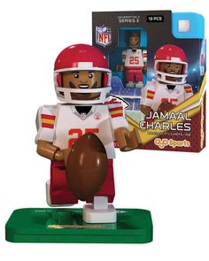 7f0f0946f Kansas City Chiefs JAMAAL CHARLES Limited Edition OYO Minifigure Lego  Figures