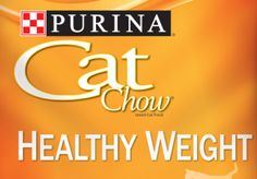 Free Purina Cat Chow Healthy Weight Sample - Free Samples by Mail Free Stuff & Freebies