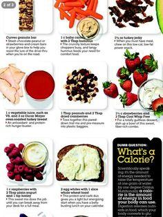 Healthy foods/snacks