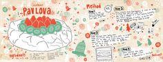 Recetas ilustradas de dulces de Navidad #unamamanovata #recetasnavideñas #recetasilustradas ▲▲▲ www.unamamanovata.com ▲▲▲