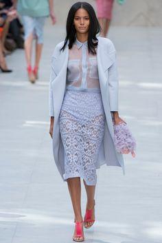 Burberry Prorsum Spring 2014 Ready-to-Wear Fashion Show - Kyra Green