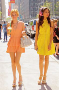 Bella and Zendaya(why can't I have their outfits?)
