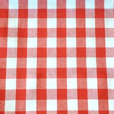 Lucy Check - Red/White Gingham, Red And White, Fabrics, Rugs, Check, Home Decor, Tejidos, Farmhouse Rugs, Decoration Home