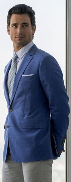 Matt Bomer- my pick for Christian Grey
