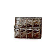 Genuine Exotic Crocodile skin wallet #0027