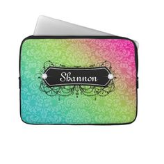 Choose from a variety of Cute laptop sleeves or make your own! Shop now for custom laptop sleeves & more! Laptop Case, Laptop Computers, Computer Sleeve, Custom Laptop, Floral Flowers, Laptop Sleeves, Monogram, Vintage, Cool Stuff