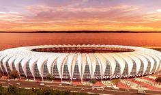 FIFA World Cup Brazil 2014 - Stadium Beira-Rio – Porto Alegre (RS)