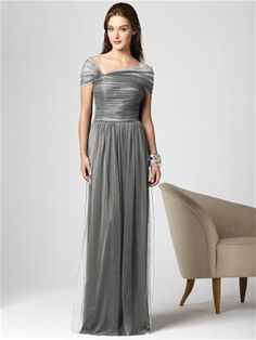 love this dress as a MOG...especially in charcoal.  Dessy #2847