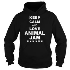 Keep Calm And Love Animal Jam Funny T-Shirt