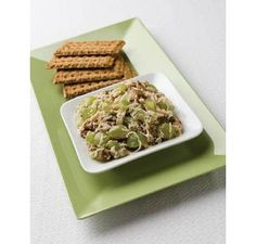 Swiss Cheese and Grape Salsa: A cool, refreshing spread for crackers, that's perfect for anytime snacking.