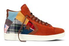 Not sure how I feel about these Stüssy NYC kicks for Converse
