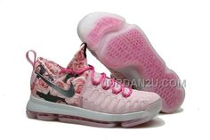 brand new 2058f a542f Discover the Nike Kevin Durant KD 9 Pink Black Aunt Pearl Flora 2016 For  Sale Super Deals collection at Pumarihanna. Shop Nike Kevin Durant KD 9 Pink  Black ...