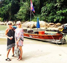 Pitkähäntäveneellä Kata Beachilta Patong Peachille. #thailand #phuket #katabeach #patongbeach #holiday #loma #futuremarja #longtailboat