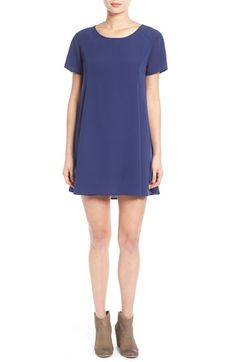 Lush 'Cassie' Short Sleeve Shift Dress available at #Nordstrom
