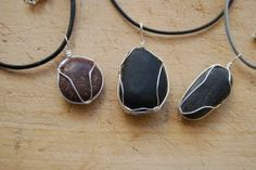 This post is one of the most popular on the site. Over the years I have made necklaces from stones collected on both coasts and they remind me of the trips. Here are step by step instructions for making necklaces from small stones. To start you will need a few basic tools such as needle-nosed pliers, … … Continue reading →