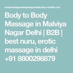 Body to Body Massage in Malviya Nagar Delhi