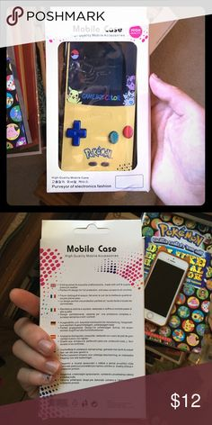 iPhone 6S Plus Pokemon Gameboy Case I bought the wrong size and can't return it. It's an iPhone 6S Plus case that looks like a Pokemon edition Game Boy Color. Accessories Phone Cases