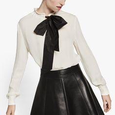 369ac19e6b33e4 69 Best Bowtie blouse images