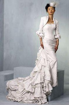 ian stuart cotton wedding  dress   ian stuart designer wedding dresses ian stuart wedding dress style