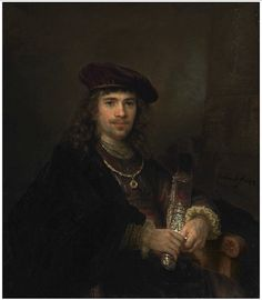 Rembrandt and studio - Man with a Sword (1644)