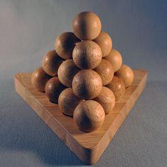Cannonball Pyramid Puzzle