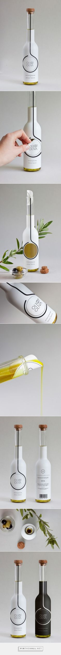 Olio D'Oliva #Concept #packaging designed by Alessia Sistori - http://www.packagingoftheworld.com/2015/05/olio-doliva-concept.html: