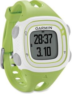 Your new running buddy: the Women's Garmin Forerunner 10 GPS Fitness Monitor