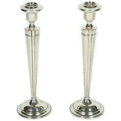 Pair of Antique Sterling Candlesticks http://www.1stdibs.com/furniture/lighting/candleholders-candelabra/