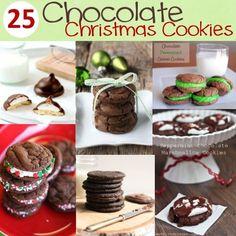 25 Chocolate Christmas Cookie Recipes.