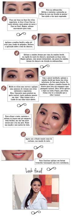 diy oriental eyes - como fazer make up para olhos orientais