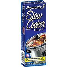 Reynolds Slow Cooker Liners 1 Pack (8 Liners Total)