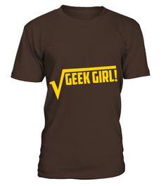 Geek Girl Womens T Shirts  #gift #idea #shirt #image #funny #job #new #best #top #hot #high-school