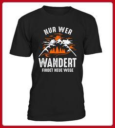 Wandern neue Wege TShirt - Shirts für zelter (*Partner-Link)