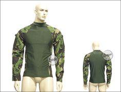 BE-X combat shirt woodland DPM