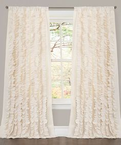 Look at this Ivory Belle Curtain Panel on #zulily today!