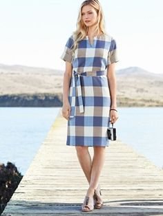 Wool-lin Alex Dress