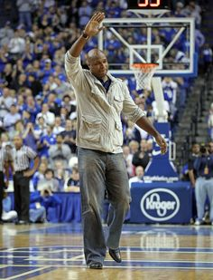Antoine Walker, a member of your 1996 National Championship team, returns to Rupp Arena