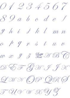 Free Embroidery Font Downloads   FREE MACHINE EMBROIDERY FONT LETTERING - Embroidery Designs