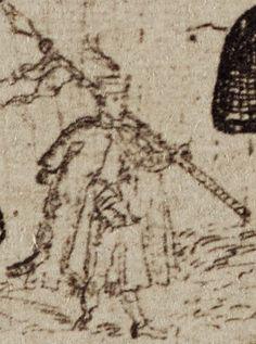 """Od Radka Sikory: """"Na moje oko, to dziesiętnik z dardą. Na pewno chodzi o polską piechotę biorącą udział w oblężeniu Smoleńska 1609-1611."""""""