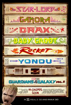Poster zum Film: Guardians of the Galaxy 2