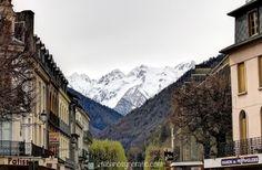 Bagnères-de-Luchon in the French Pyrénées