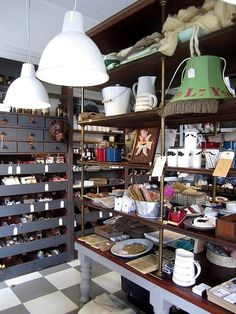 """This looks like """"home"""" to me. the perfect junk shop- billions on display. all within reach. everything tagged. love it"""