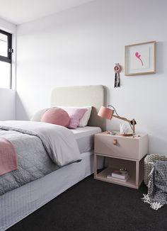 Dormitorios con moqueta negra - Tránsito Inicial