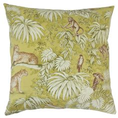 Ender Graphic Linen Throw Pillow