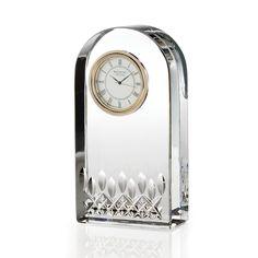 Waterford Crystal Lismore Essence Desk Clock